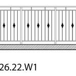 Smidesräcke W1-26-22