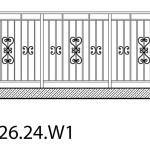 Smidesräcke W1-26-24