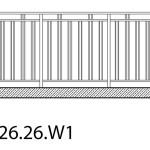 Smidesräcke W1-26-26