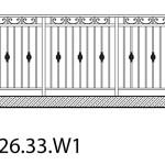 Smidesräcke W1-26-33