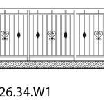 Smidesräcke W1-26-34