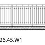 Smidesräcke W1-26-45