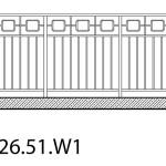 Smidesräcke W1-26-51
