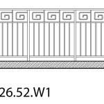 Smidesräcke W1-26-52