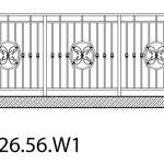 Smidesräcke W1-26-56
