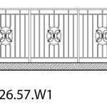 Smidesräcke W1-26-57