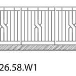 Smidesräcke W1-26-58