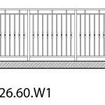 Smidesräcke W1-26-60